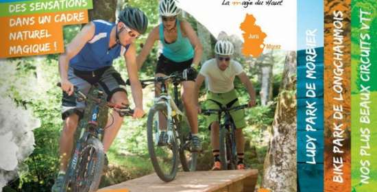 Brochure des sites VTT