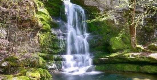 Vallée et cascades