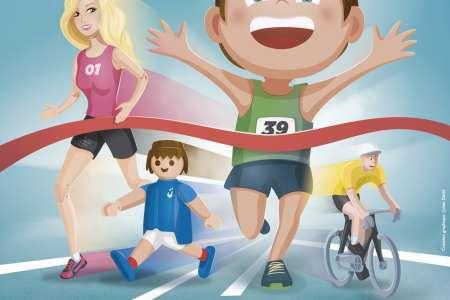 Exposition temporaire 'jouons sportif' au musée du jouet